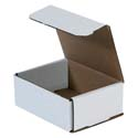 5 in x 4 in x 2 in White Corrugated Mailers