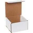 5 in x 5 in x 3 in White Corrugated Mailers