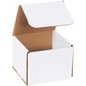 5 in x 5 in x 4 in White Corrugated Mailers