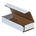 6 in x 2.5 in x 1 in White Corrugated Mailers