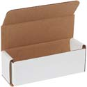 6 in x 2 in x 2 in White Corrugated Mailers