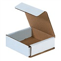 6 in x 3.625 in x 2 in White Corrugated Mailers