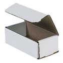 6 in x 3 in x 2 in White Corrugated Mailers