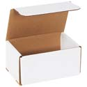 6 in x 4 in x 3 in White Corrugated Mailers