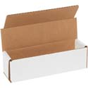 7 in x 2 in x 2 in White Corrugated Mailers