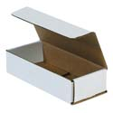 7.5 in x 3.25 in x 1.75 in White Corrugated Mailers