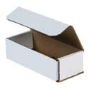 7 in x 3 in x 2 in White Corrugated Mailers
