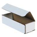 8 in x 3 in x 2 in White Corrugated Mailers