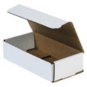 8 in x 4 in x 2 in White Corrugated Mailers