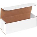 9 in x 3 in x 3 in White Corrugated Mailers