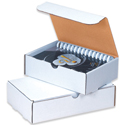 9 in x 6.5 in x 2.75 in White Literature Mailers