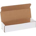 10 in x 3 in x 2 in White Corrugated Mailers
