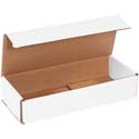 10 in x 4 in x 2 in White Corrugated Mailers