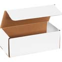 10 in x 4 in x 3.75 in White Corrugated Mailers