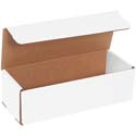 10 in x 4 in x 3 in White Corrugated Mailers