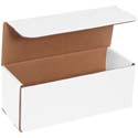 10 in x 4 in x 4 in White Corrugated Mailers