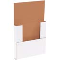 10.25x10.25x1 White Easy-Fold Mailers