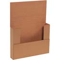 11 1/8 in x 8 5/8 in x 2 in Kraft Corrugated Mailer