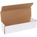 12 in x 3.5 in x 3 in White Corrugated Mailers