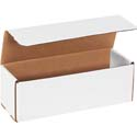 12 in x 4 in x 4 in White Corrugated Mailers