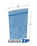 Resealable 3 inx 5 in 4 Mil VCI Bags