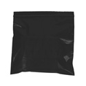 5 in x 8 in 2 mil Black Reclosable Poly Bags