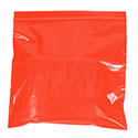 12 in x 15 in 2 mil Red Reclosable Poly Bags