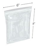 6 in x 8 in 4 mil reclosable poly bags