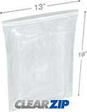 13 in x 18 in 4 mil reclosable poly bags