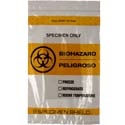 6x9 Absorbent Specimen Shield Biohazard Bags