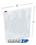 9 inx12 in Slider Lock Bags