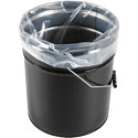 5 Gallon 4 Mil Round Bottom Pail Liners - 19 in x 22 in