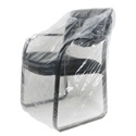26 in Chair 1Mil Plastic Furniture Cover - 50x45