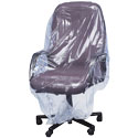 36 in Chair 1Mil Plastic Furniture Cover - 70x45