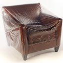 42 in Chair 1Mil Plastic Furniture Cover - 76x45