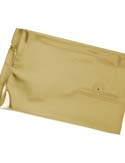4 oz Flat Pouch with valve Gold PET / VMPET / LLDPE