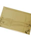 16 oz Flat Pouch  Gold PET / VMPET / LLDPE