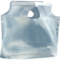 11 in x 10 in 1 Mil Plastic Lunch Bags