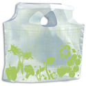 11 in x 10 in 1 Mil Pre-Printed Plastic Lunch Bags