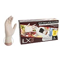Ammex Ivory Latex Gloves - Large