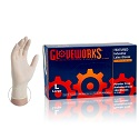 Gloveworks Ivory Latex Gloves - Large