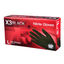 Black Nitrile Gloves - Medium