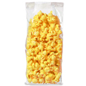 3.5 in x 2.25 in x  8.25 in Gusseted Polypropylene Cello Popcorn Bags 2 Mil Food Bags