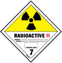 D.O.T. Radioactive II Label