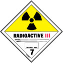 D.O.T. Radioactive III Label