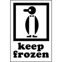 KEEP FROZEN - International Safe Handling Label