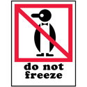 Do Not Freeze - International Safe Handling Label