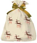 24 in x 6 in x 42 in Jumbo Holiday Shopping Bags - Joy themed