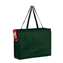 16 x 6 x 12 Hunter Green Non Woven Tote