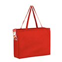 Blank Matte Red Color Over The Shoulder Tote 16 x 6 x 12